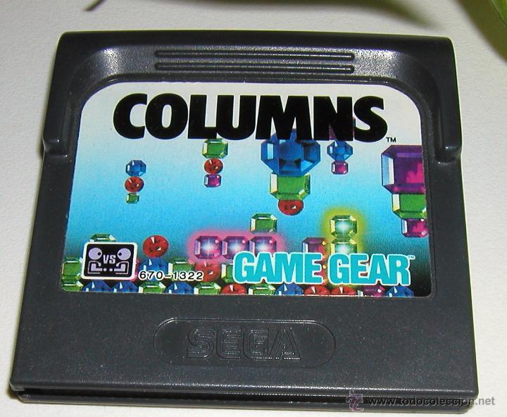 JUEGO PARA LA CONSOLA SEGA GAME GEAR COLUMNS EN MUY BUEN ESTADO DE CONSERVACIÓN PROBADO SIN PROBLEMA (Juguetes - Videojuegos y Consolas - Sega - GameGear)