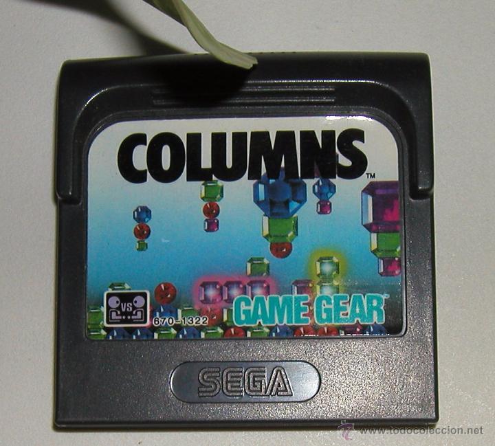 Videojuegos y Consolas: JUEGO PARA LA CONSOLA SEGA GAME GEAR COLUMNS EN MUY BUEN ESTADO DE CONSERVACIÓN PROBADO SIN PROBLEMA - Foto 3 - 53794187