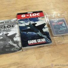 Videojuegos y Consolas: G-LOC PARA GAME GEAR. Lote 54160266