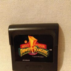 Videojuegos y Consolas: GAMEGEAR. POWER RANGERS. SOLO CARTUCHO. Lote 58525546