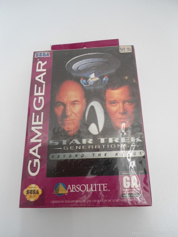 STAR TREK - GENERATIONS - BEYOND THE NEXUS - GAMEGEAR - SEGA GAME GEAR - NUEVO Y PRECINTADO (Juguetes - Videojuegos y Consolas - Sega - GameGear)