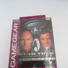Videojuegos y Consolas: STAR TREK - GENERATIONS - BEYOND THE NEXUS - GAMEGEAR - SEGA GAME GEAR - NUEVO Y PRECINTADO. Lote 56611267
