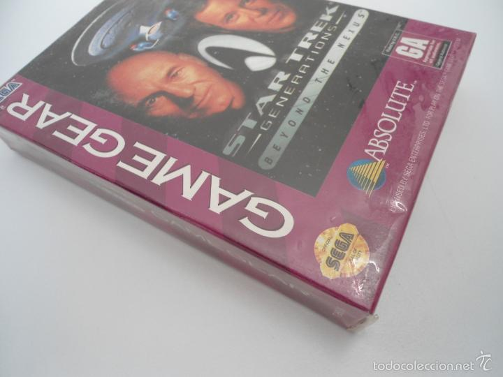 Videojuegos y Consolas: STAR TREK - GENERATIONS - BEYOND THE NEXUS - GAMEGEAR - SEGA GAME GEAR - NUEVO Y PRECINTADO - Foto 2 - 56611267