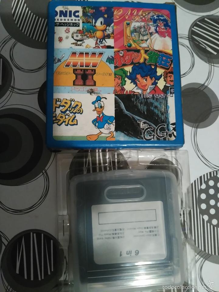 Videojuegos y Consolas: GAME GEAR 6 IN 1 NUEVO A ESTRENAR NEW PAC MAN,COLUMS,MONACO,WOODY POP,HALLEY ETC - Foto 4 - 57123873