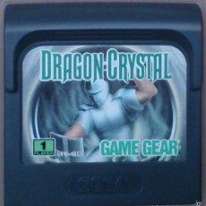 Videojuegos y Consolas: GAME GEAR GAMEGEAR JUEGO DRAGON CRYSTAL . Lote 58111456