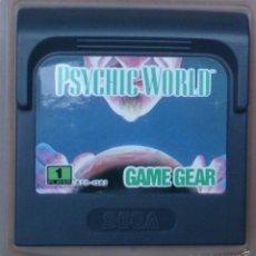 Videojuegos y Consolas: GAME GEAR GAMEGEAR JUEGO PSYCHIC WORLD. Lote 58111481