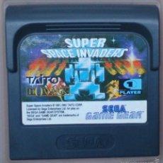 Videojuegos y Consolas: GAME GEAR GAMEGEAR JUEGO SUPER SPACE INVADERS. Lote 58111520