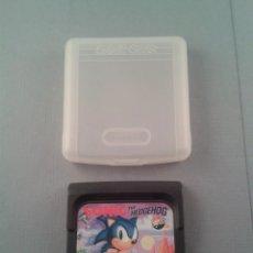 Videojuegos y Consolas: JUEGO SEGA GAME GEAR SONIC THE HEDGEHOG + FUNDA PAL R4402. Lote 58632437
