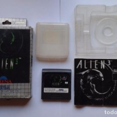 JUEGO SEGA GAME GEAR ALIEN 3 COMPLETO CIB CON CAJA Y MANUAL PAL R5045