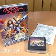 Videojuegos y Consolas: ALIEN SYNDROME JUEGO PARA SEGA GAMEGEAR GAME GEAR COMPLETO. Lote 69417265