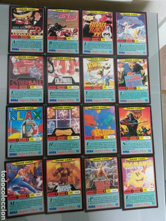 Videojuegos y Consolas: 50 CARTAS SEGA SUPERPLAY DIFERENTES AÑOS 1991-92 - Foto 2 - 71179079
