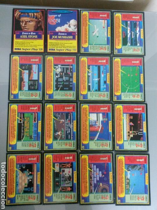 Videojuegos y Consolas: 50 CARTAS SEGA SUPERPLAY DIFERENTES AÑOS 1991-92 - Foto 3 - 71179079