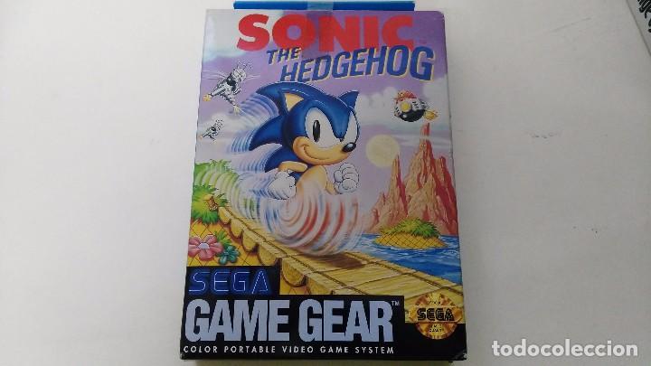 ANTIGUO JUEGO PARA LA SEGA GAME GEAR SONIC COMPLETO ES NUEVO (Juguetes - Videojuegos y Consolas - Sega - GameGear)