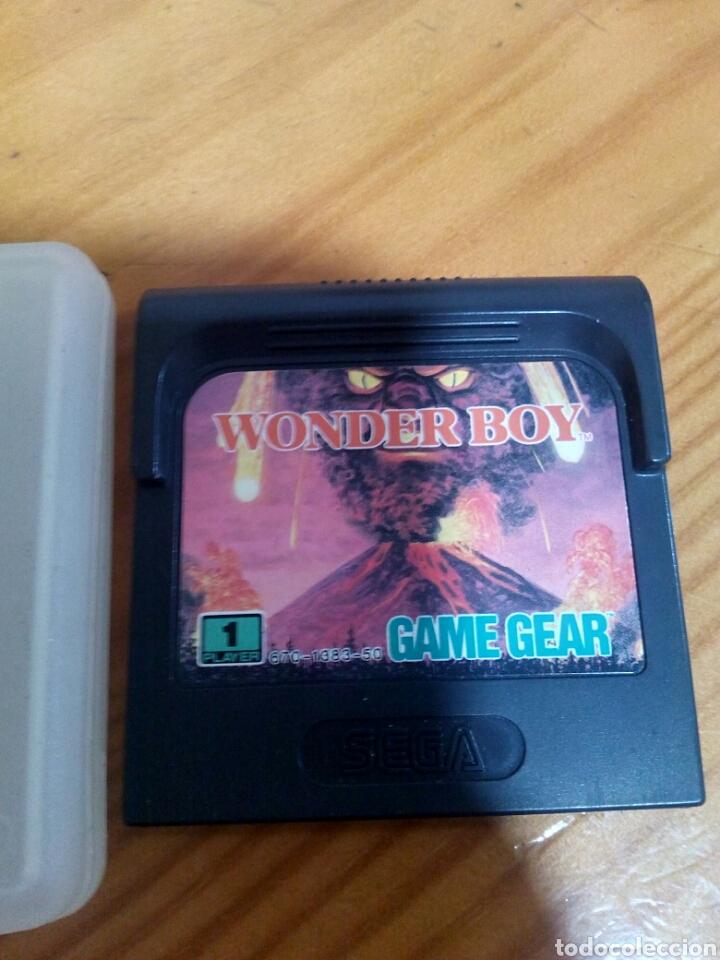 JUEGO WONDER BOY-SEGA GAME GEAR CARTUCHO SOLO FUNCIONANDO (Juguetes - Videojuegos y Consolas - Sega - GameGear)