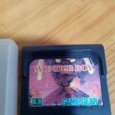 Videojuegos y Consolas: JUEGO WONDER BOY-SEGA GAME GEAR CARTUCHO SOLO FUNCIONANDO. Lote 78086573