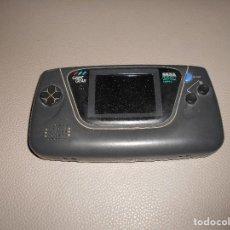 Videojuegos y Consolas: CONSOLA SEGA GAMEGEAR ENCIENDE PERO NECESITA CAMBIO CONDENSADORES CARCASA EN BUEN ESTADO TAPAS. Lote 82481324