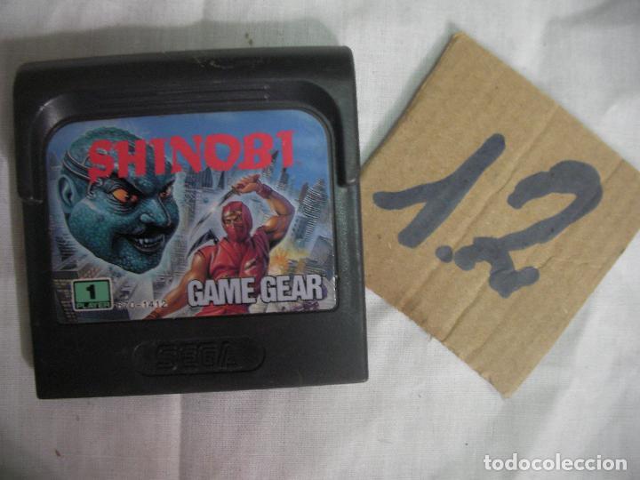 ANTIGUO JUEGO GAMEGEAR - SHINOBI (Juguetes - Videojuegos y Consolas - Sega - GameGear)