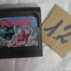 Videojuegos y Consolas: ANTIGUO JUEGO GAMEGEAR - SHINOBI. Lote 83606076