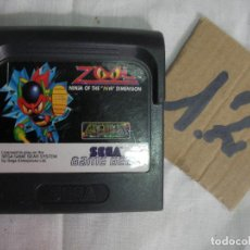 Videojuegos y Consolas: ANTIGUO JUEGO GAMEGEAR - ZOOL NINJA OF THE DIMENSION. Lote 83606132