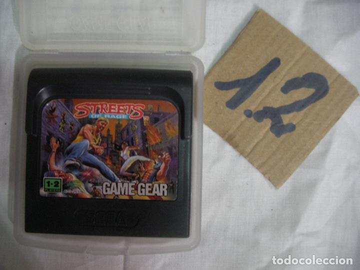 ANTIGUO JUEGO GAMEGEAR - STREETS OF RAGE (Juguetes - Videojuegos y Consolas - Sega - GameGear)