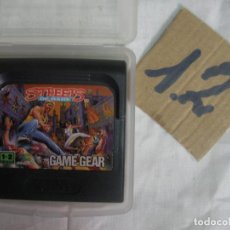 Videojuegos y Consolas: ANTIGUO JUEGO GAMEGEAR - STREETS OF RAGE. Lote 83607272