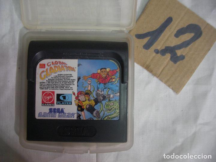 ANTIGUO JUEGO GAMEGEAR - GLOBAL GLADIATORS (Juguetes - Videojuegos y Consolas - Sega - GameGear)