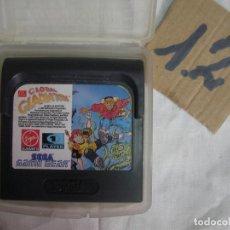 Videojuegos y Consolas: ANTIGUO JUEGO GAMEGEAR - GLOBAL GLADIATORS. Lote 83607360