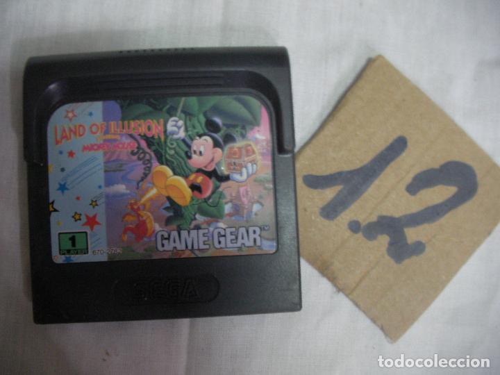 ANTIGUO JUEGO GAMEGEAR - MICKEY MOUSE (Juguetes - Videojuegos y Consolas - Sega - GameGear)