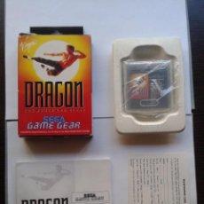 JUEGO SEGA GAME GEAR DRAGON BRUCE LEE STORY COMPLETO CIB CON CAJA Y MANUAL PAL R5989
