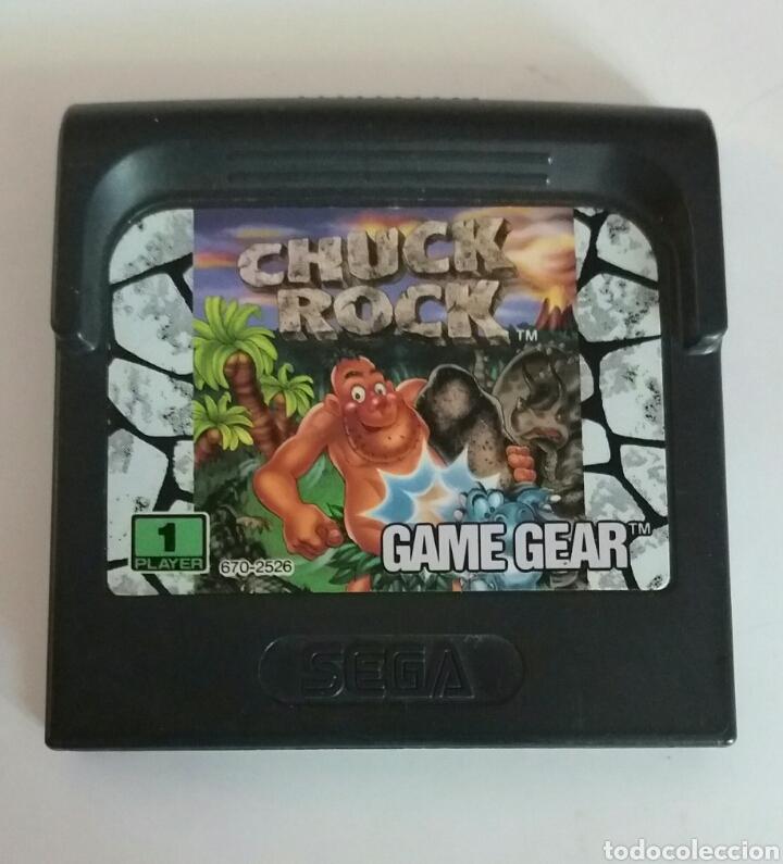 CHUCK ROCK GAME GEAR SEGA (Juguetes - Videojuegos y Consolas - Sega - GameGear)