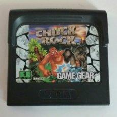 Videojuegos y Consolas: CHUCK ROCK GAME GEAR SEGA . Lote 86988140