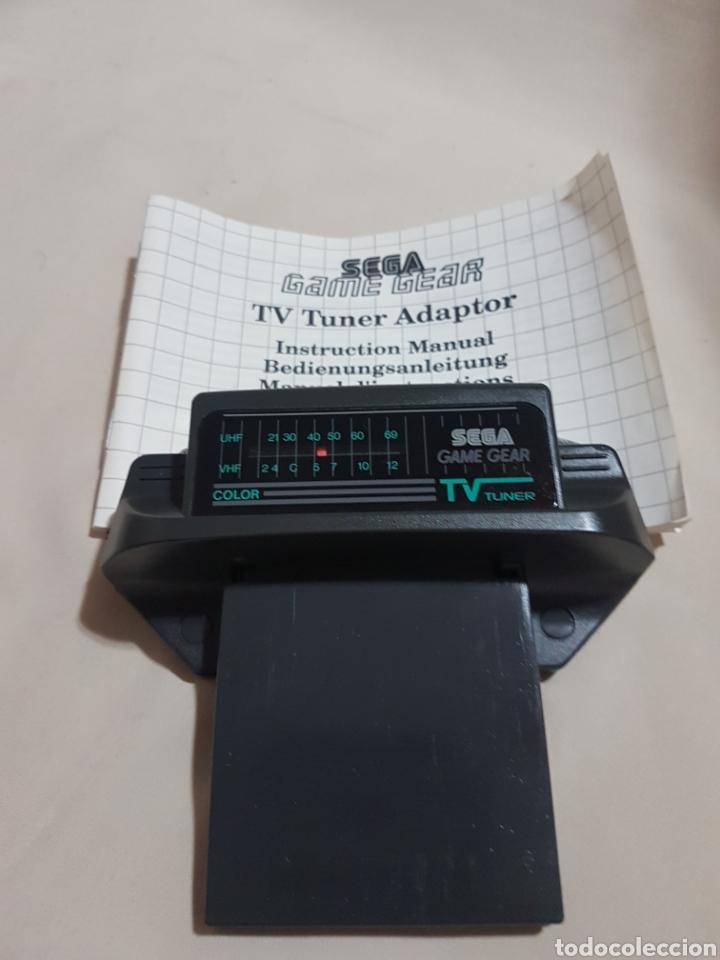 ACCESORIO CONSOLA GAME GEAR RADIO TV CON INSTRUCCIONES (Juguetes - Videojuegos y Consolas - Sega - GameGear)