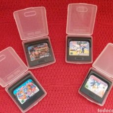 Videojuegos y Consolas: LOTE 4 JUEGOS - GAME GEAR- SEGA. Lote 90032263