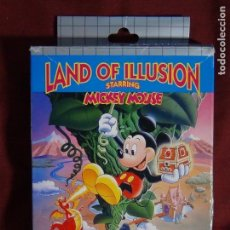 Videojuegos y Consolas: JUEGO SEGA GAME GEARS LAND ILLUSIONS STARRING MICKEY MOUSE. Lote 91687850