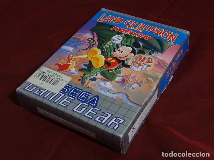 Videojuegos y Consolas: juego sega game gears land illusions starring Mickey Mouse - Foto 2 - 91687850