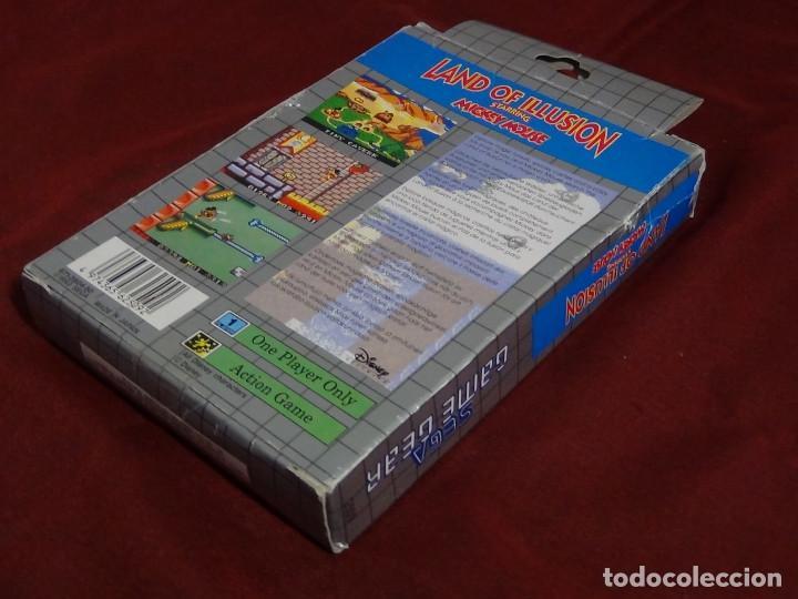 Videojuegos y Consolas: juego sega game gears land illusions starring Mickey Mouse - Foto 3 - 91687850