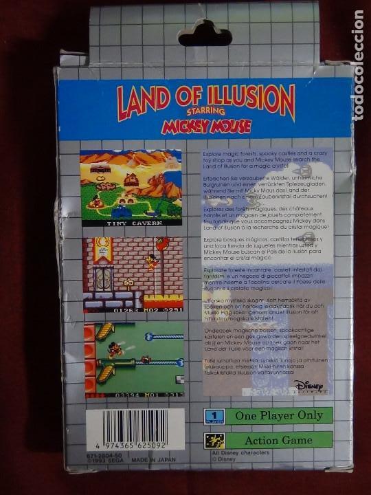 Videojuegos y Consolas: juego sega game gears land illusions starring Mickey Mouse - Foto 4 - 91687850