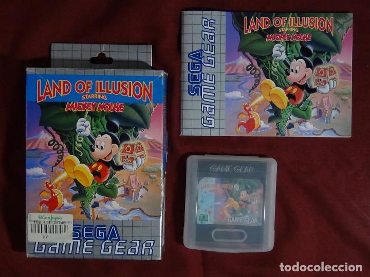 Videojuegos y Consolas: juego sega game gears land illusions starring Mickey Mouse - Foto 5 - 91687850