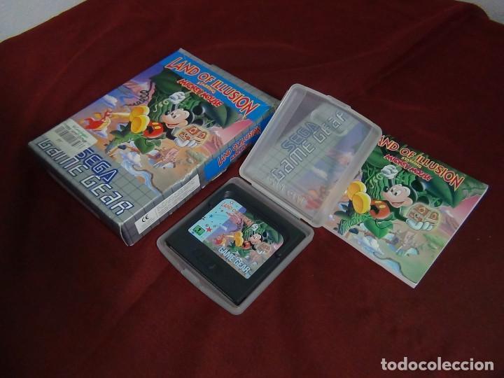 Videojuegos y Consolas: juego sega game gears land illusions starring Mickey Mouse - Foto 6 - 91687850