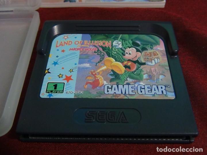 Videojuegos y Consolas: juego sega game gears land illusions starring Mickey Mouse - Foto 8 - 91687850