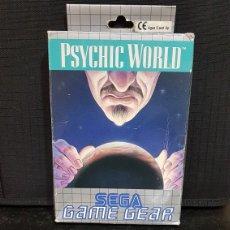 Videojuegos y Consolas: SEGA GAMEGEAR PSYCHIC WORLD. Lote 91956697