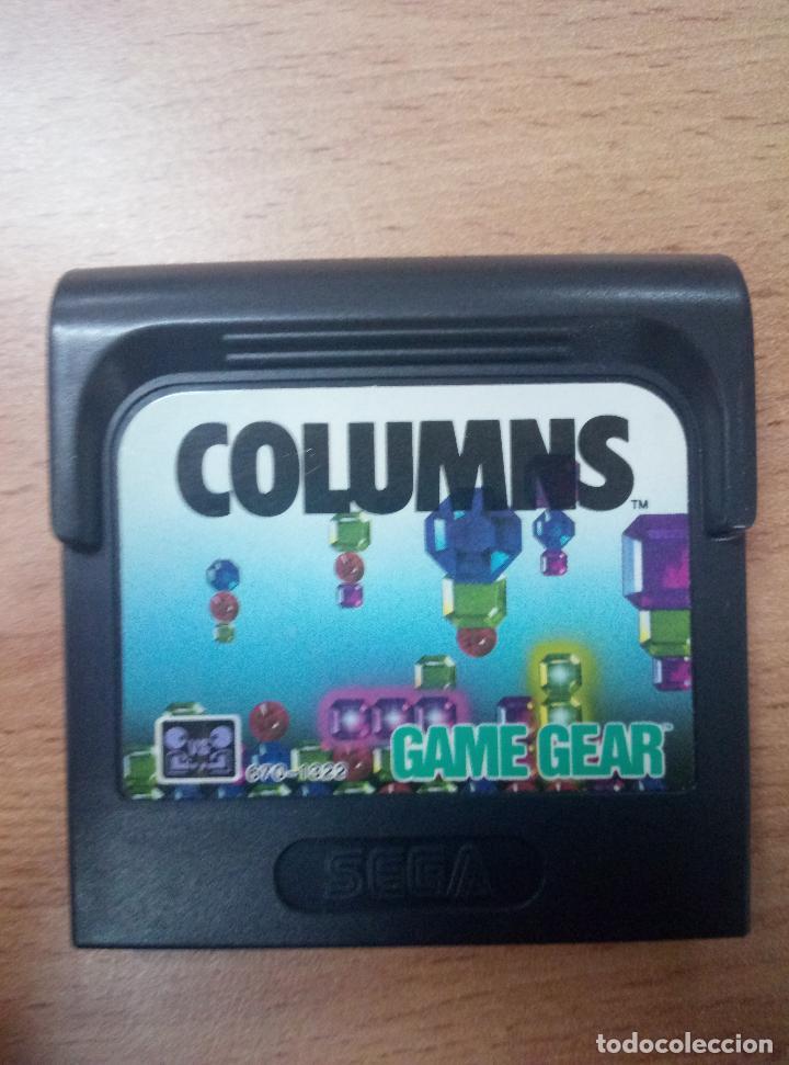 COLUMNS - SEGA GAME GEAR - GG (Juguetes - Videojuegos y Consolas - Sega - GameGear)