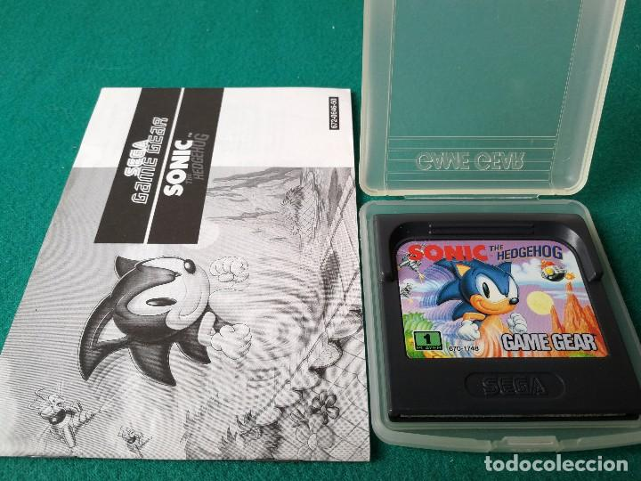 JUEGO SONIC GAMEGEAR GAME GEAR SEGA (Juguetes - Videojuegos y Consolas - Sega - GameGear)