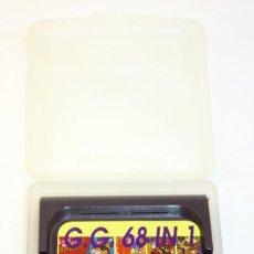 Videojuegos y Consolas: MULTIJUEGOS 68 IN 1 - SEGA GAMEGEAR. Lote 95247043