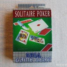 Videojuegos y Consolas: SOLITAIRE POKER , SEGA GAME GEAR, JAPAN, COMPLETO.. Lote 95560287