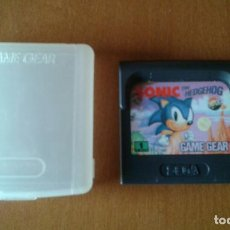 Videojuegos y Consolas: GAME GEAR - SONIC THE HEDGEHOG. Lote 95618259