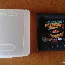 Videojuegos y Consolas: GAME GEAR - AYRTON SENNA'S SUPER MONACO GP II. Lote 95619023