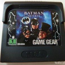 Videojuegos y Consolas: BATMAN RETURNS GAME GEAR (CARTUCHO). Lote 110417906