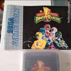 Videojuegos y Consolas: JUEGO SEGA GAME GEAR POWER RANGERS INCLUYE INSTRUCCIONES. Lote 96437579