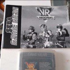 Videojuegos y Consolas: SEGA GAME GEAR VR TROOPERS INCLUYE INSTRUCCIONES. Lote 96437759